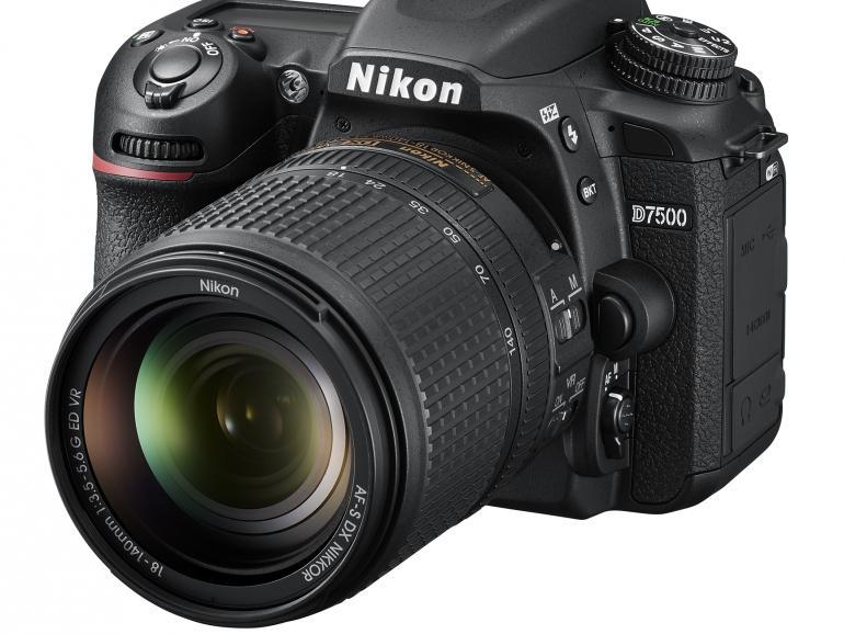 Neue Spiegelreflex im DX-Format von Nikon
