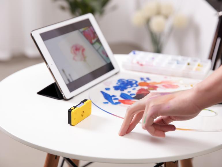 Blick auf Kickstarter: Kamera mit Gesten auslösen