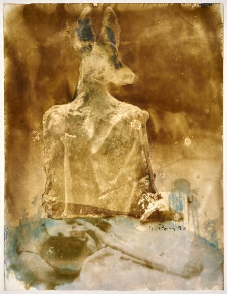 Das Sichtbare im Unsichtbaren: Ausstellung von Johannes Brus