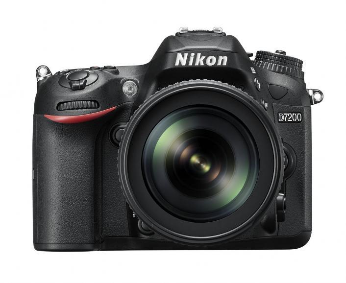 Semiprofi-Kamera Nikon D7200, Preis: 900 Euro