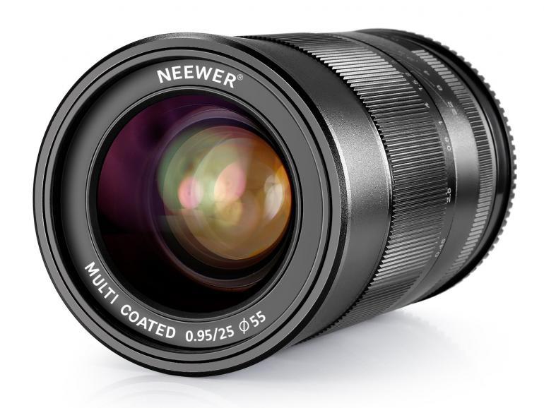 Deal zum Wochenende: Neewer 25mm-Objektiv für Sony E-Mount