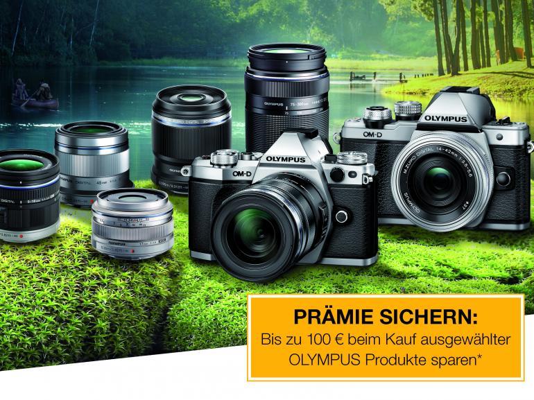 Bis zu 100 Euro sparen mit Olympus-Produkten
