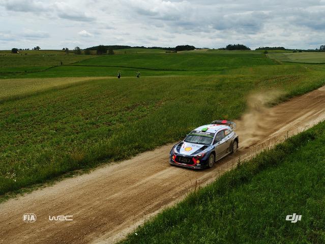 Volle Drohnen-Action: Mit DJI zur ADAC Rallye Deutschland