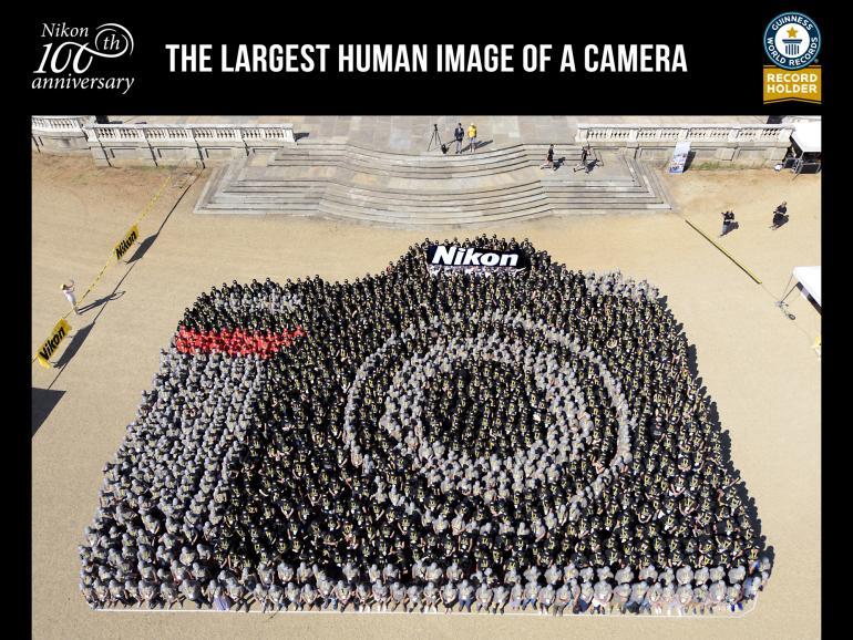 Nikon: Weltrekord zum 100. Jubiläum