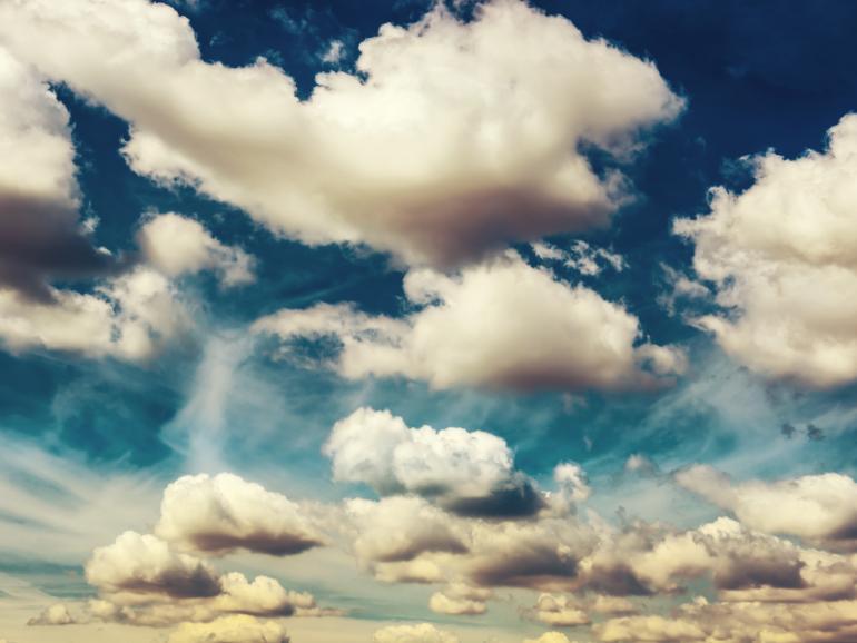 Wolkenschauspiel: Foto-Basics