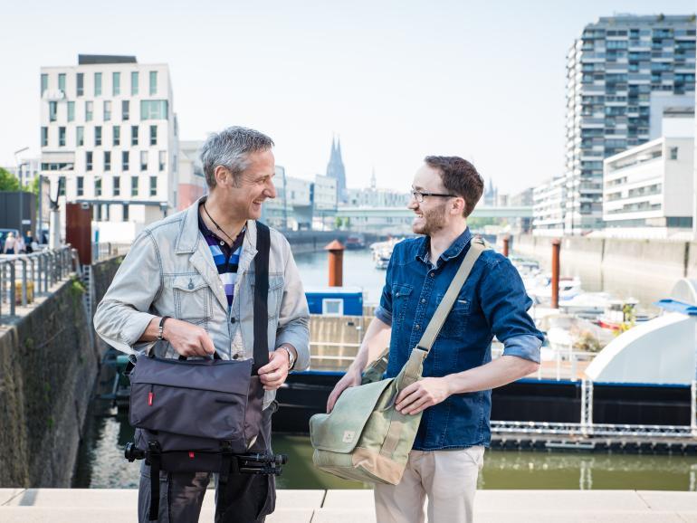 (v.l.) Gerhard Wansel und Tim Herpers
