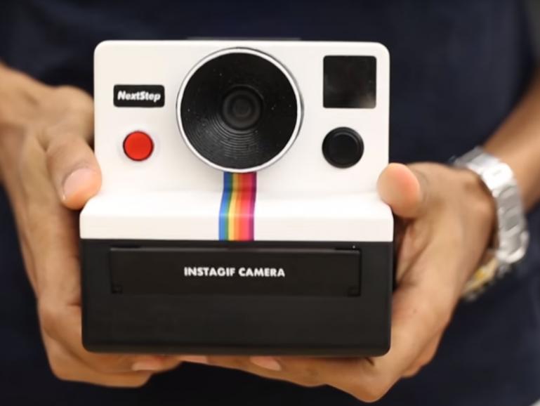 Instagif: Muggel baut Harry-Potter-Kamera