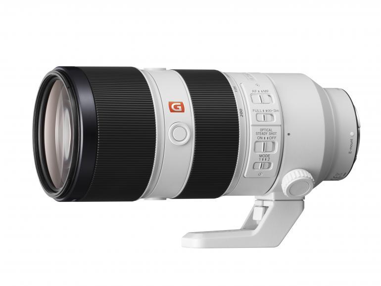 Tele-Objektiv für Profis: Sony 70-200mm F/2,8