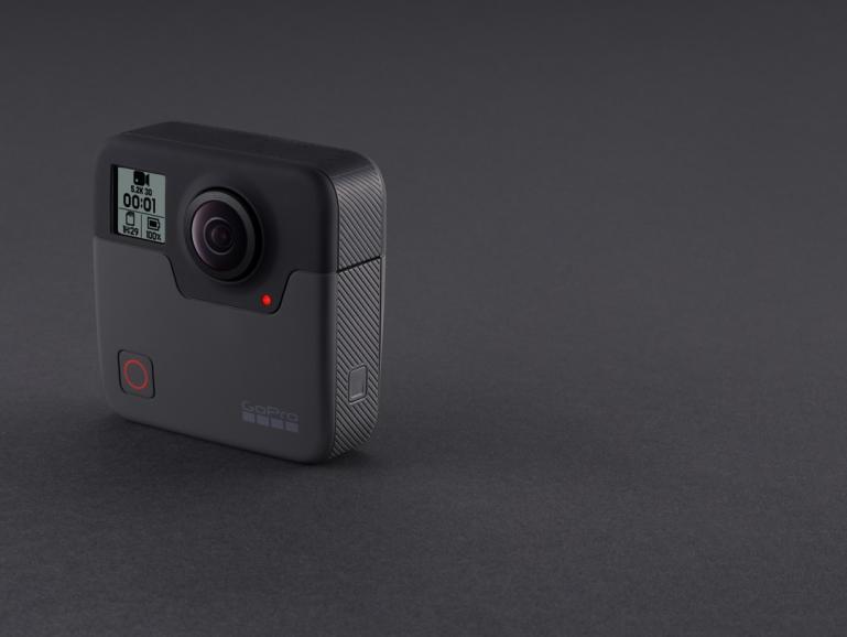 Nicht viele Schnörkel: GoPros neue 360°-Kamera Fusion.