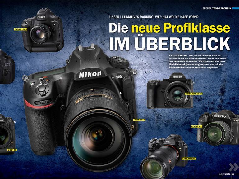 Druckfrisch: DigitalPHOTO 11/17 - die besten Fotospots im deutschsprachigen Raum!