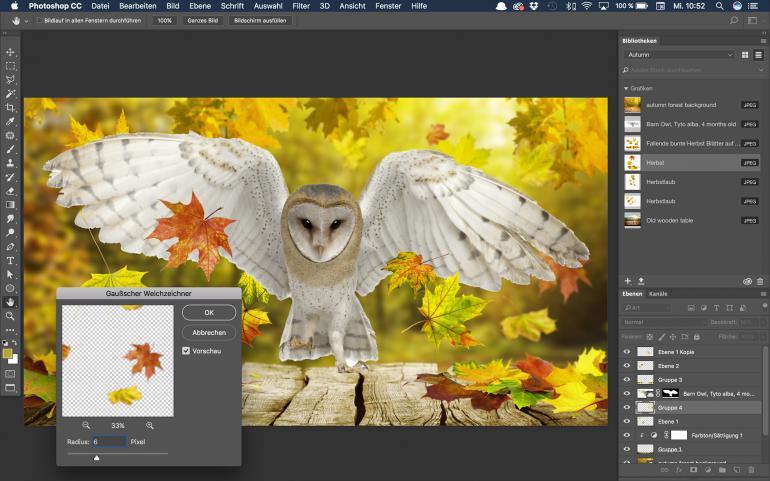 #AdobeStockHerbst17 – Andreas Preis zeigt sein magisches Herbstkunstwerk