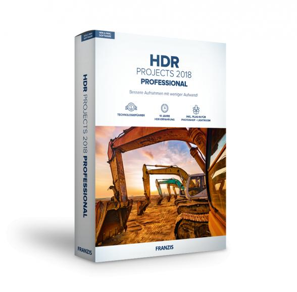 Franzis - HDR Projects 2018 professional