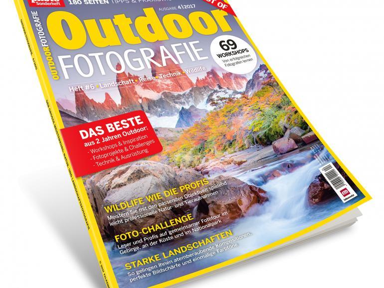 Jetzt online und am Kiosk: BEST OF Outdoor Fotografie