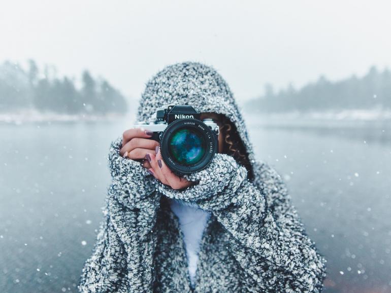 Fotoausrüstung für den Winter