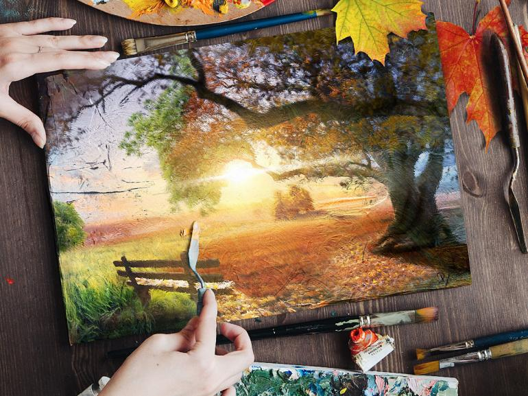 #AdobeStockHerbst17 – DomQuichottes poetisches Composing
