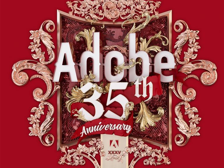 Happy birthday: Adobe feiert 35. Jubiläum