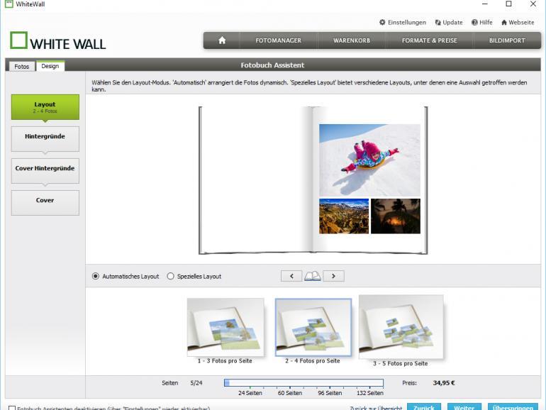 Acht Fotobücher im Test - Digitalfotos zum Blättern