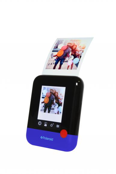 Touch-Bedienung: Die Polaroid Pop wird größtenteils über das 4-Zoll-Display gesteuert.