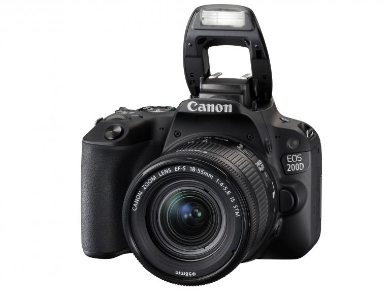 Canon EOS 200D im Test: DSLR mit Selfie-Option