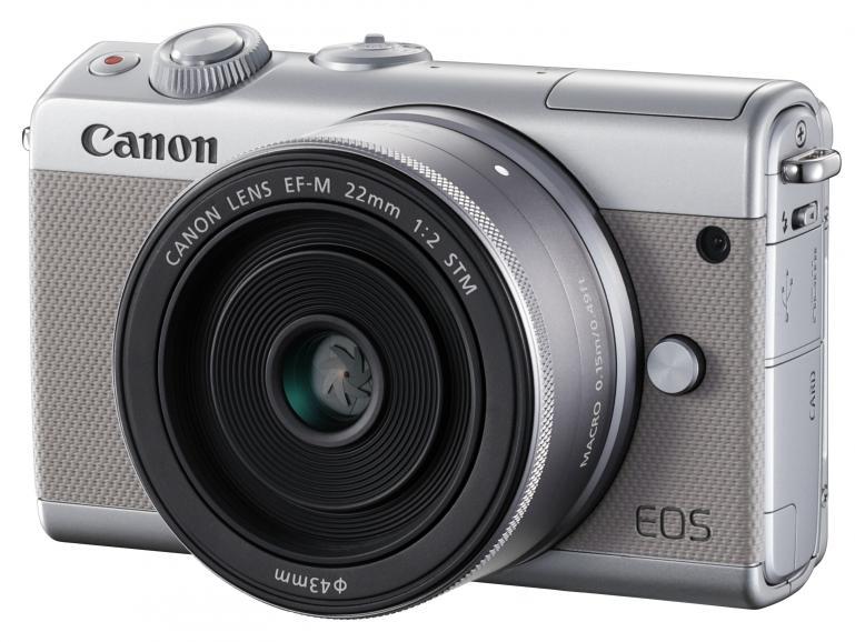 Die Canon EOS M100 ist mit sieben EF-M-Objektiven kompatibel. Für EF-Optiken ist ein Adapter erhältlich.