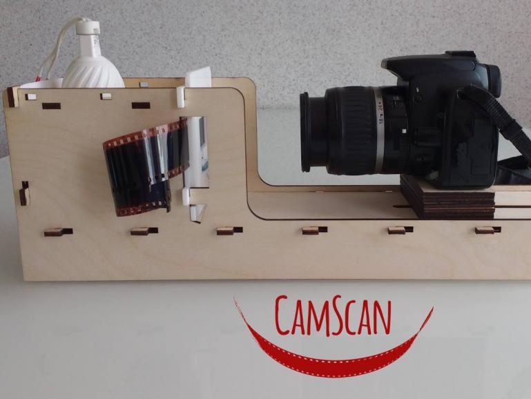 Crowdfunding: Analoge Filme mit der Kamera scannen