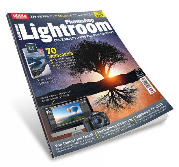 Photoshop Lightroom 1/2018: Aktualisierte Neuauflage jetzt im Handel
