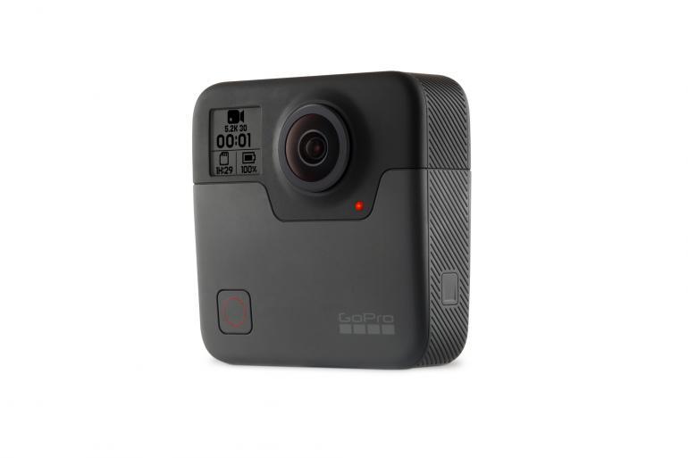 Frontansicht der GoPro Fusion