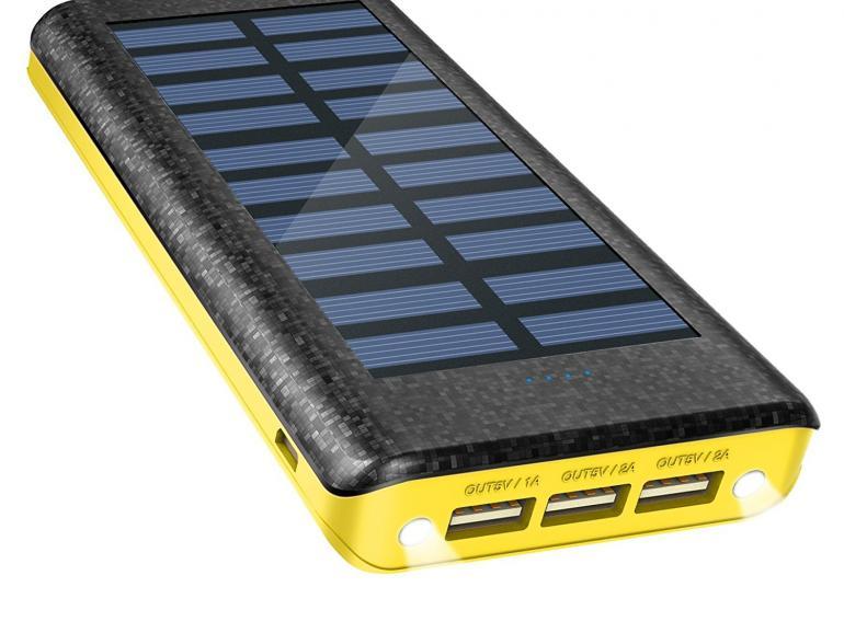 Deal des Tages: Externe Powerbank mit Solaraufladung