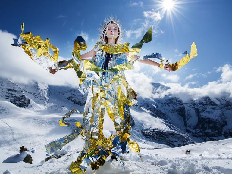 Fashionfotografie on Ice: Mit der Nikon D850 in den Alpen