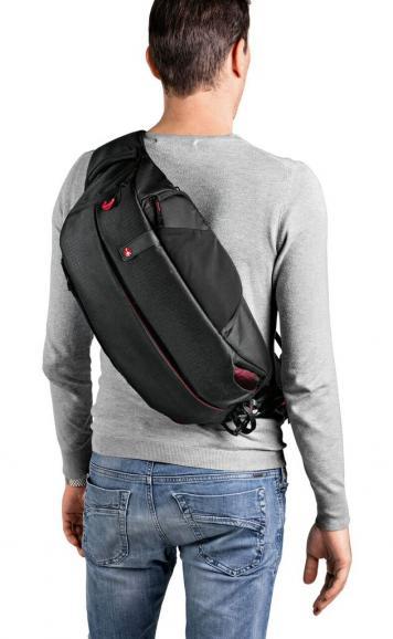 Das Modell Pro Light FastTrack in der Funktion als Tasche.