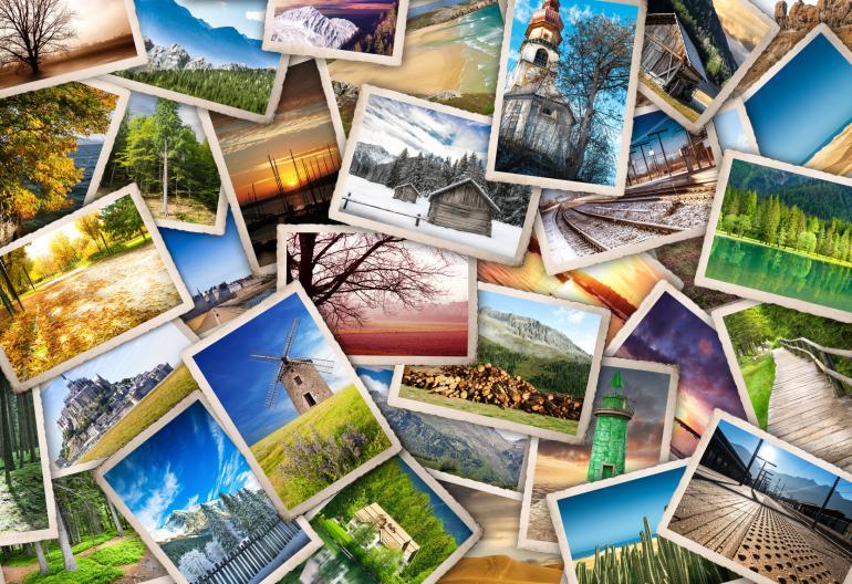 Schöne Fotos kreativ präsentieren
