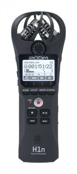 Der Mobilrecorder H1n von Zoom richtet sich ebenso an Profis wie an Hobbyfilmer.
