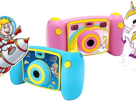 Kinderkamera mit zwei Bildsuchern von Easypix