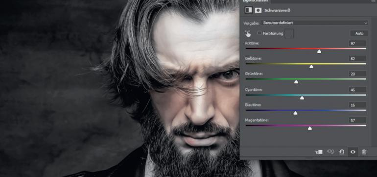 Kreativer Fingerabdruck mit Texturen, Masken und Füllmethoden
