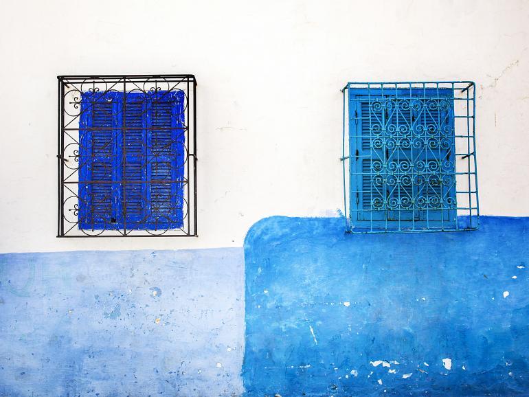 Blau: Foto-Basics
