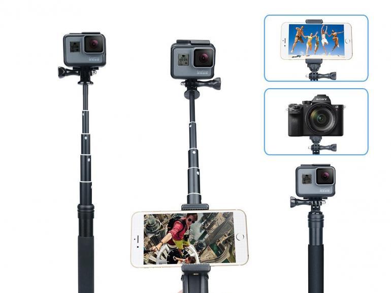 Blitzdeal: Wasserfester Selfie-Stick mit 15% Preisnachlass