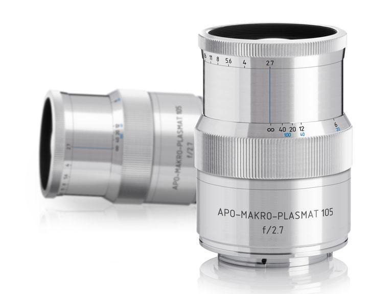 Blick auf Kickstarter:  Plasmat 105 mm f2.7