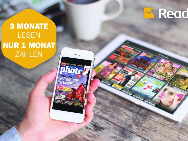 Über 600 Zeitschriften lesen für 3,33 Euro pro Monat