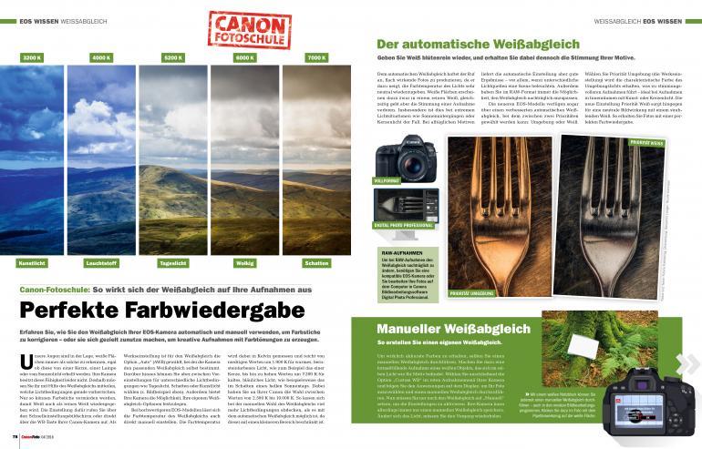 CanonFoto 4/2018 - Kann Canon am Systemkameramarkt mitmischen?