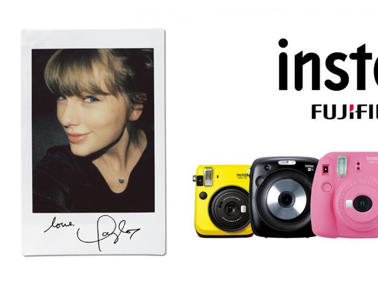 Taylor Swift und instax: Fujifilm gibt globale Partnerschaft bekannt
