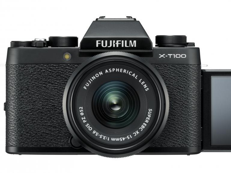 Fujifilm X-T100 -  Einsteigerfreundliche Systemkamera