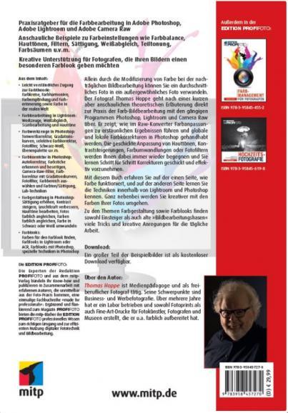 Praxisbuch: Bildbearbeitung mit Thomas Hoppe