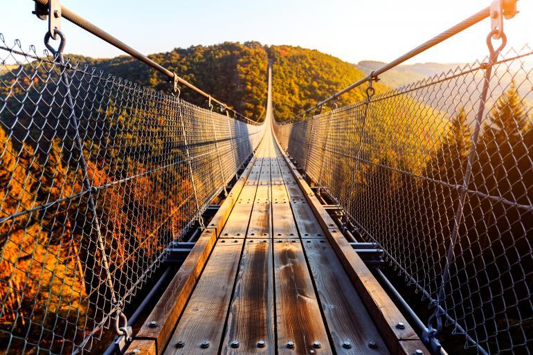 Hängebrücke Geierlay im Hunsrück