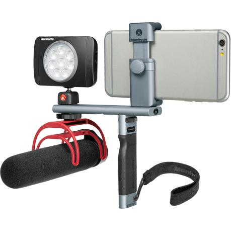 Neues Smartphone-System: Manfrotto TwistGrip Kollektion