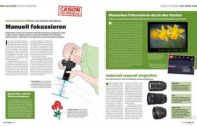 CanonFoto 5/2018 - 36 Seiten großes Reisespezial!