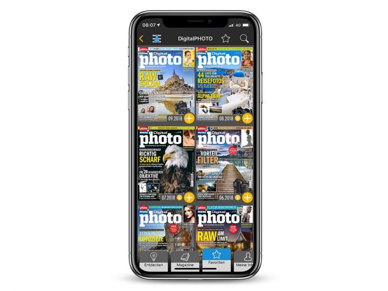 Mit Readly können Sie Ihre Lieblingsmagazine ganz bequem auf dem Smartphone oder Tablet lesen.