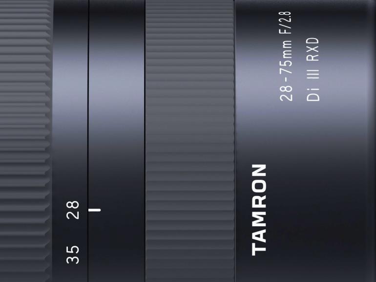 Das Tamron 28-75mm f/2,8 Di III RXD ist für spiegellose E-Mount-Kameras mit Vollformatsensor geeignet.
