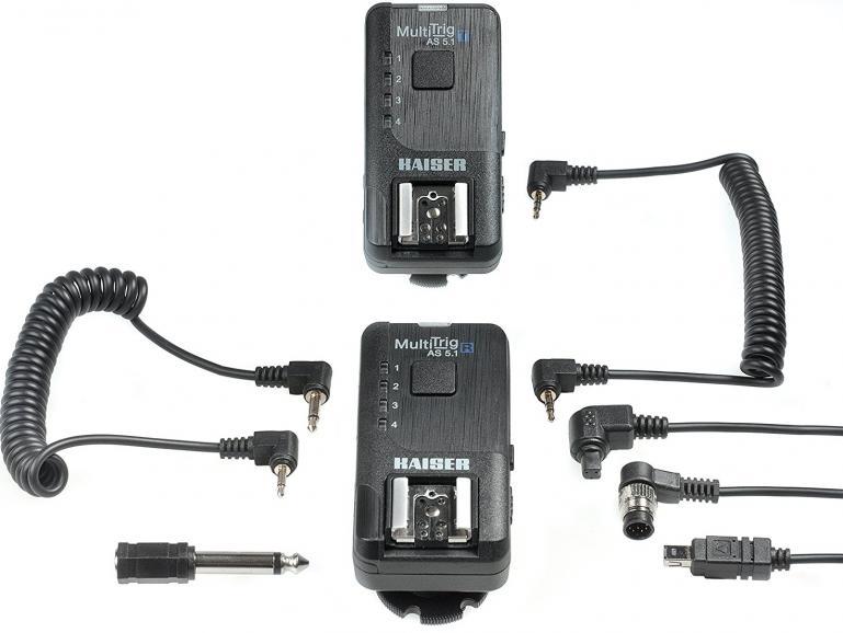 Kaiser MultiTrig AS 5.1:Funkauslöser-Set für Kamera oder Blitz