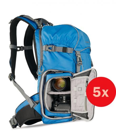 Wir suchen fünf Leser, die den ULTRALIGHT 2in1 DayPack 600+ für uns testen. Im Anschluss dürfen Sie den Rucksack behalten.