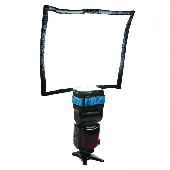 Individuell anpassbar: Dank flexibler Streben lassen sich die beiden Reflektoren beliebig verformen.
